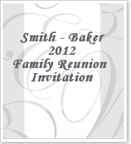 Printable Family Reunion Booklet Flyers Invitations Banners Iron On