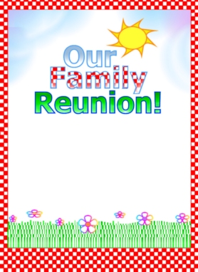 family reunion flyer templates free koni polycode co