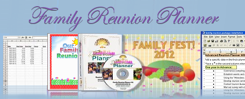 Printable Family Reunion Booklet Flyers Invitations Banners Iron – Free Printable Family Reunion Invitations